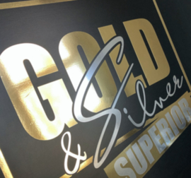 Metallic Vinyl - Superior Gold (30cmx50cm)