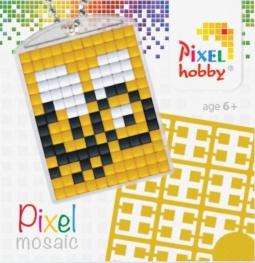 Pixel sleutelhanger - Bij