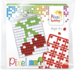 Pixel sleutelhanger - Kersen