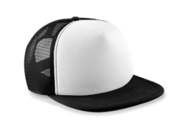 Vintage Trucker Cap - Black & White