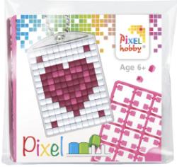 Pixel sleutelhanger - Hart In Hart