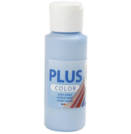 Plus Color acrylverf - Sky Blue / 60 ml (2+1)