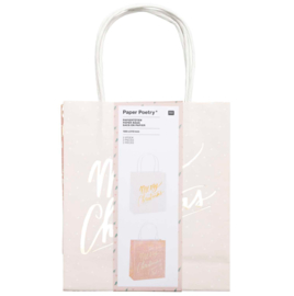 Paper Bag - Merry Christmas Pastel