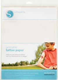 Printbaar Tattoeage Papier - Transparant