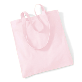 Katoenen Draagtas - Pastel roze