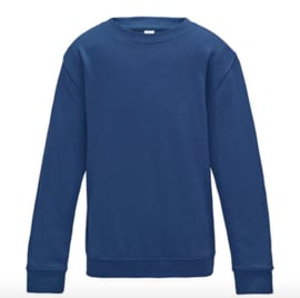 Kids AWDis Sweater - Royal Blue