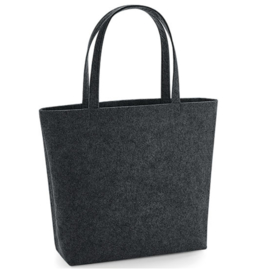 Felt Shopper - Charcoal Melange