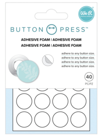 Button Press - Button Backer Adhesive Foam