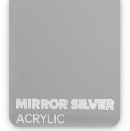 Acrylic Mirror Silver 3mm (21x30cm)