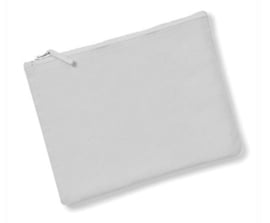 Canvas Accessory Case - Light Grey - L