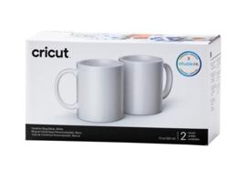 Cricut mug white 340ml - 12oz (2 stuks)