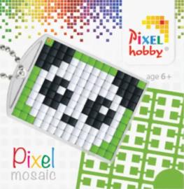 Pixel sleutelhanger - Panda