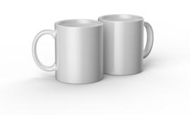 Cricut mug white 350ml (2 stuks)
