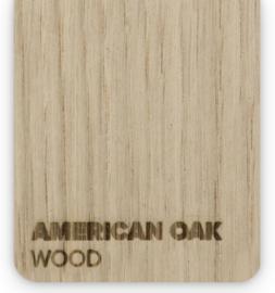 Wood American oak (21x30cm)