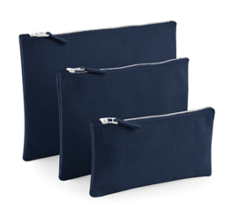 Canvas Accessory Case - Navy - L