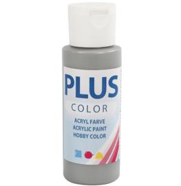 Plus Color acrylverf - Rain Grey / 60 ml