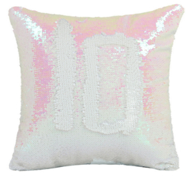 Sequin kussenhoes  sublimatie- Pink
