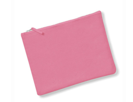 Canvas Accessory Case - Pink - M
