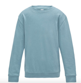 Kids AWDis Sweater - Sky Blue