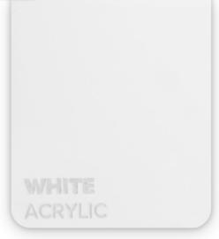 Acrylic White 3mm (21x30cm)