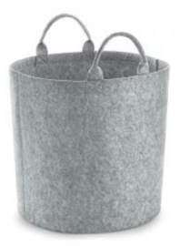 Felt Trug - Grey Melange SMALL