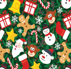 Siser Easy Pattern - Joyful Christmas (30cmx50cm) + TTD