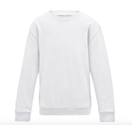 Kids AWDis Sweater - Arctic White