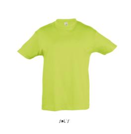 Kids T-shirt - Apple Green
