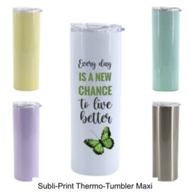 Sublimatie Thermo-Tumbler Maxi Lemon