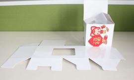 Sublimeerbare blanco box voor sublimatiemok met opening