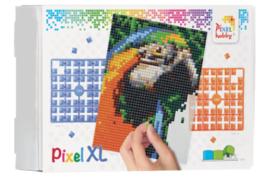 Pixel XL pakket op 4 basisplaten - Papegaai