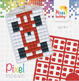 Pixel sleutelhanger - Racewagen