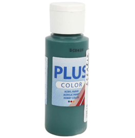 Plus Color acrylverf - Dark Green  / 60 ml
