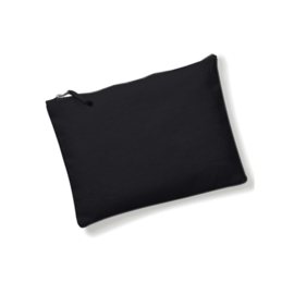Canvas Accessory Case - Black - XS
