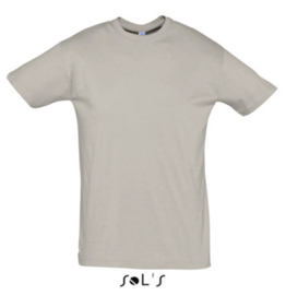 Men T-shirt - Light Grey (Solid)