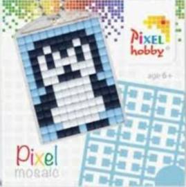 Pixel sleutelhanger - Pinguin