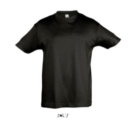 Kids T-shirt - Deep Black