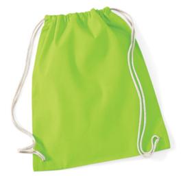 Turnzak katoen - Lime Green