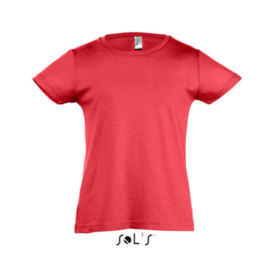 Girls T-shirt - Red