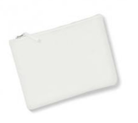 Canvas Accessory Case - Off White - L