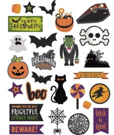 Halloween - Figuren van karton