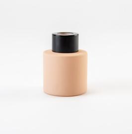 Parfumflesje Cylinder Blush met zwarte schroefdop - 50ml