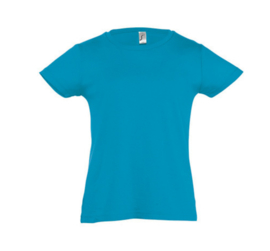 Girls T-shirt - Aqua