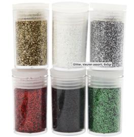 Potjes Glitter - Kleuren assortiment