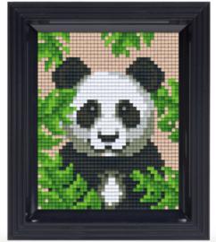 Pixel geschenkverpakking - Jungle panda