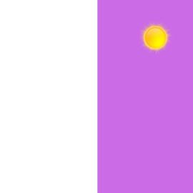 "Sun Vinyl - Pink 12x12"""