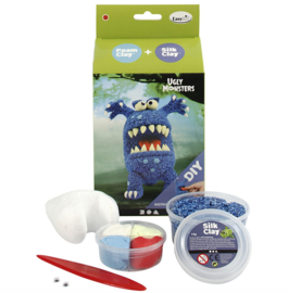 Monster - DIY blauw monster