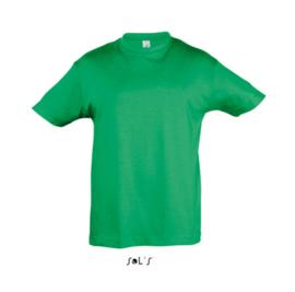 Kids T-shirt - Kelly Green