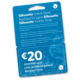 Silhouette Design Store Downloadcode € 20