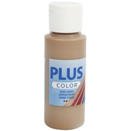 Plus Color acrylverf - Light Brown / 60 ml